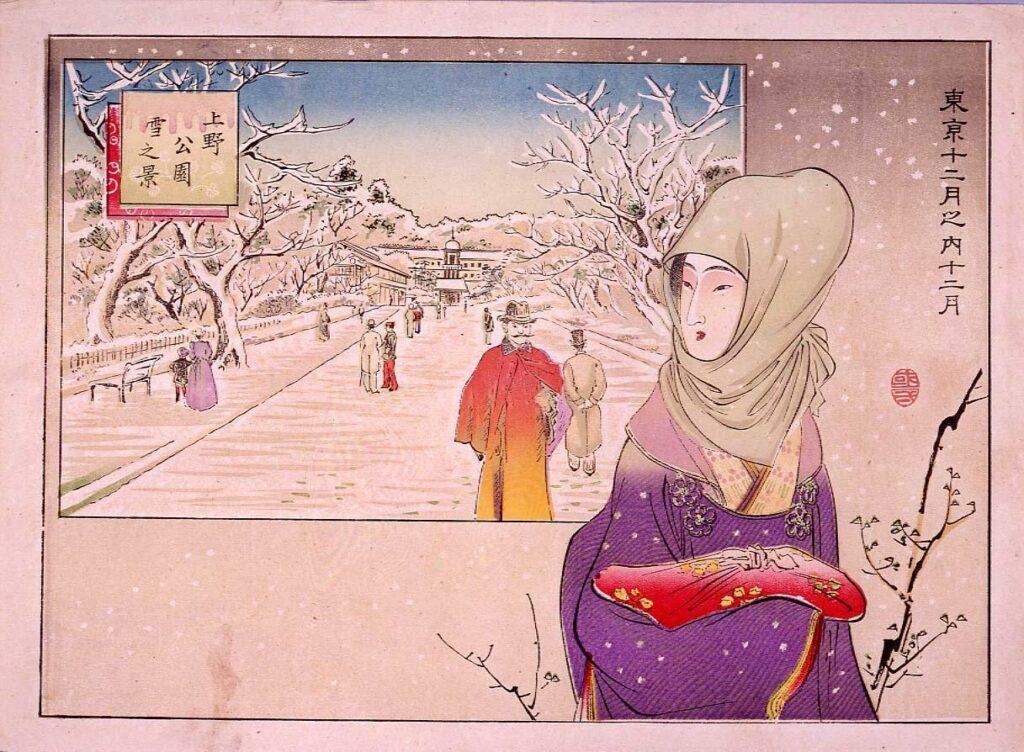 作品画像:東京十二月之内  十二月