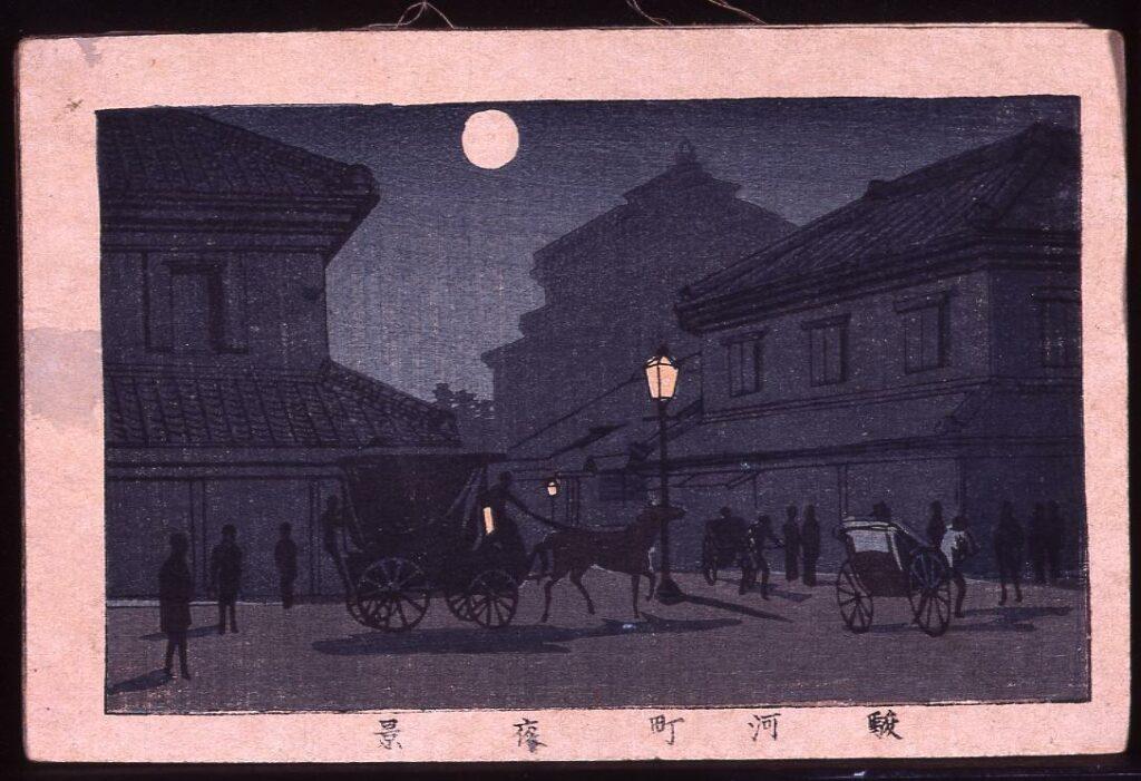 作品画像:駿河町夜景