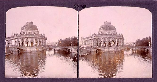 作品画像:河辺の建物と橋(西欧風景)(No.268)