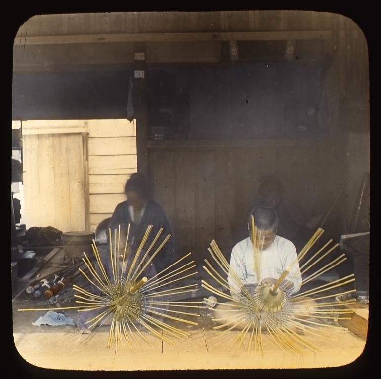 作品画像:和傘職人たち