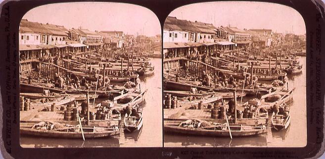 作品画像:One of Tokio's many Canals―looking from Nihonbashi.4027