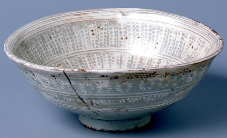 作品画像:三島模茶碗