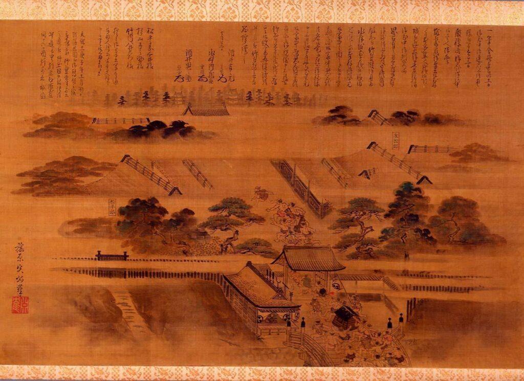 作品画像:庄内藩復封早馬の図