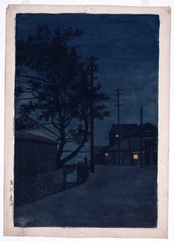作品画像:旅みやげ第三集 尾州亀崎 原画