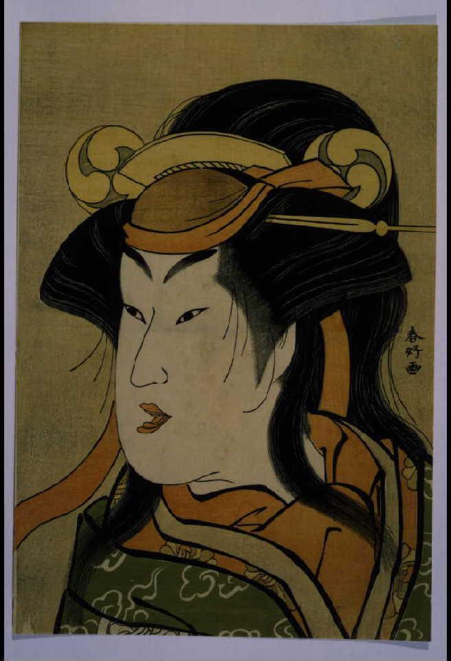 作品画像:三代瀬川菊之丞の雪女