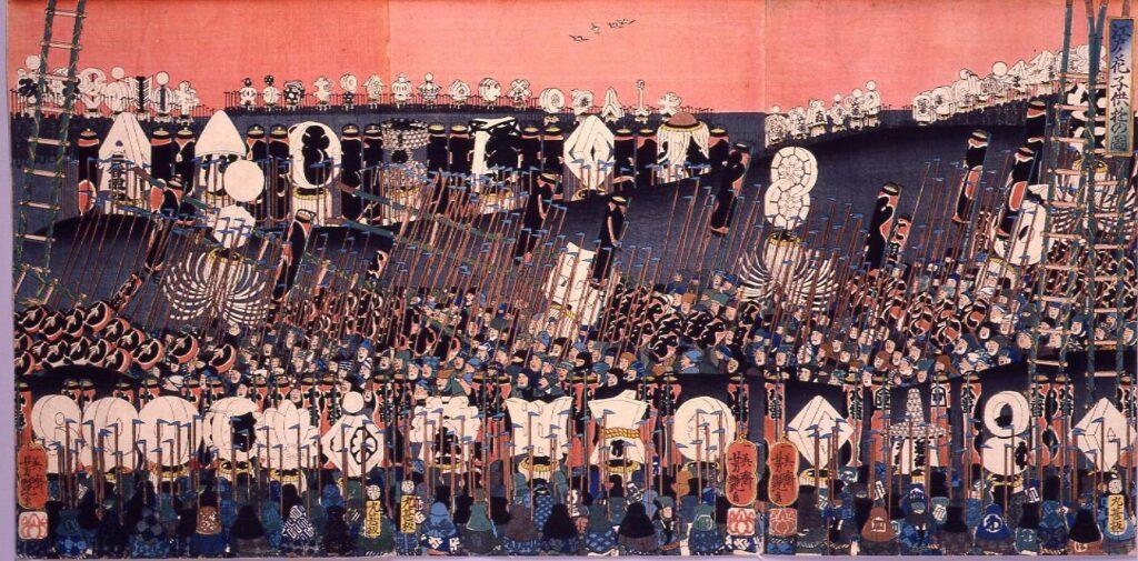 作品画像:江戸ノ花 子供遊の図