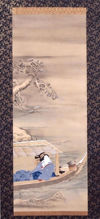 作品画像:雪月花三美人図