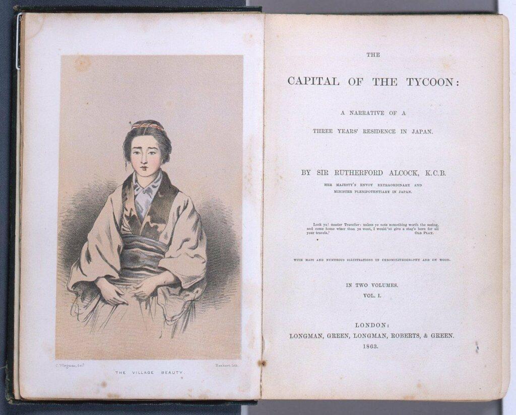 作品画像:THE CAPITAL OF THE TYCOON (大君の都)