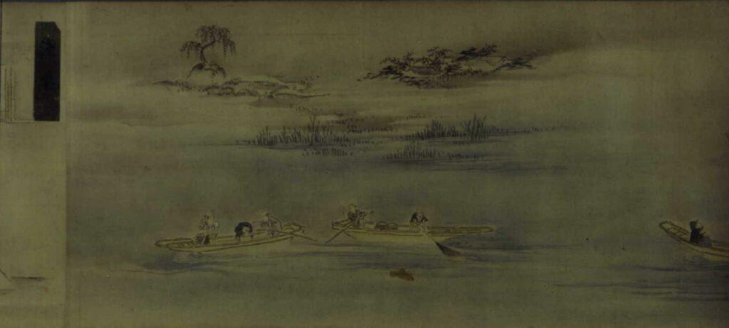 作品画像:四季諸国名所図巻