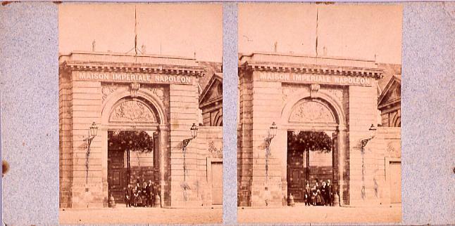 作品画像:外国製ステレオ写真集 Maison Imperiale Napoleon