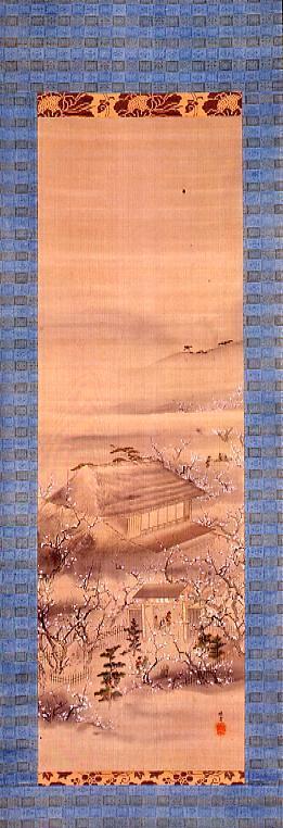 作品画像:隅田川百花園図