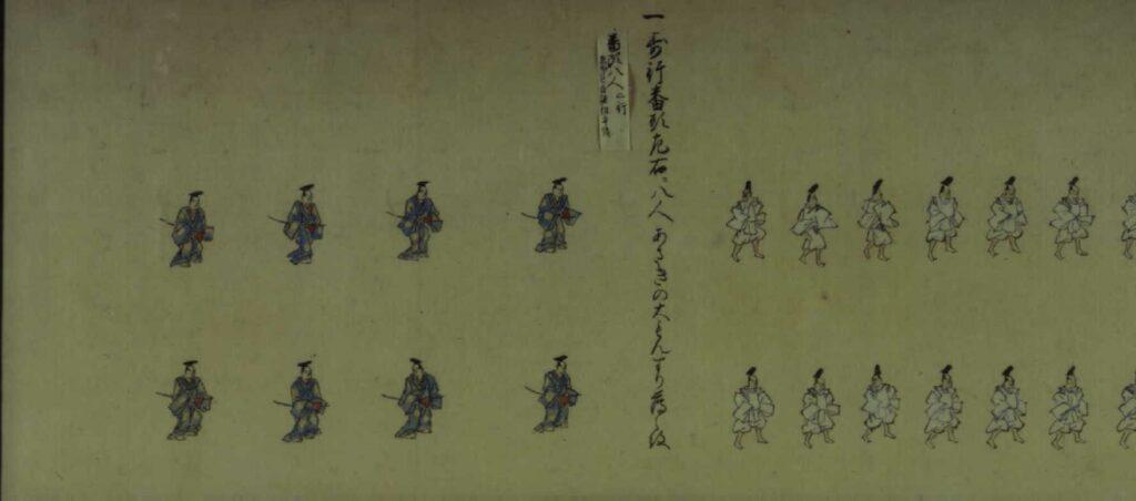 作品画像:寛永三年将軍上洛絵巻