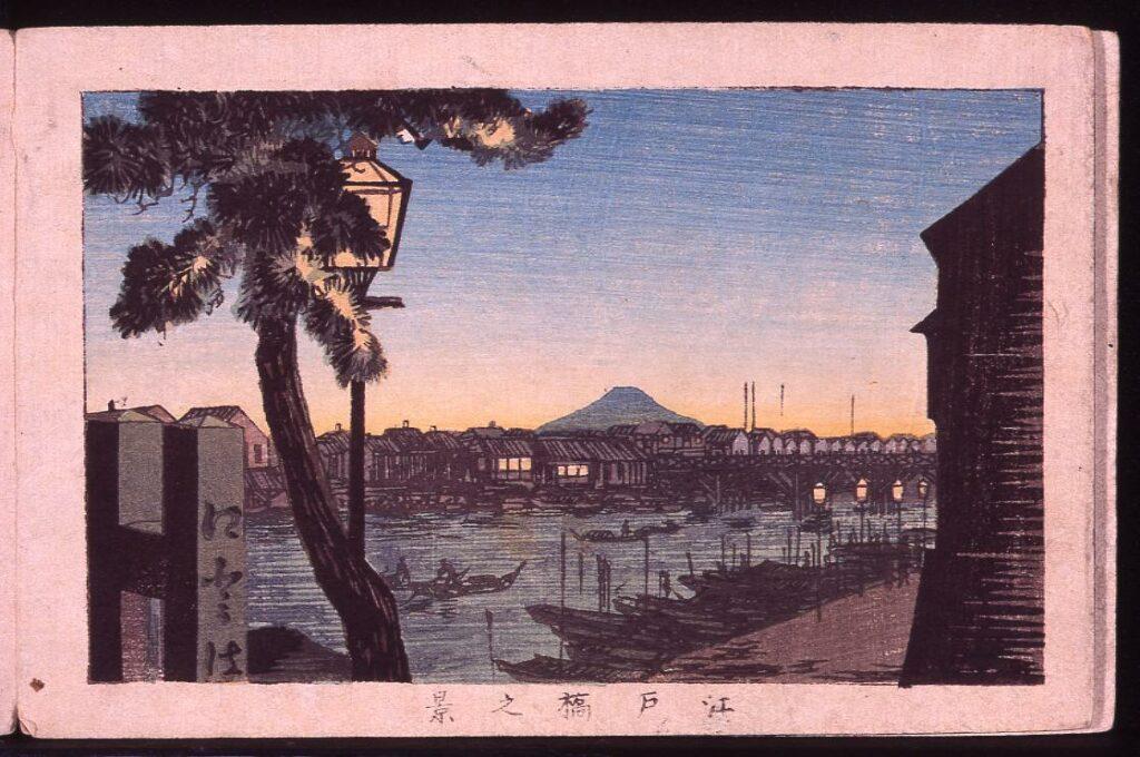 作品画像:江戸橋之景