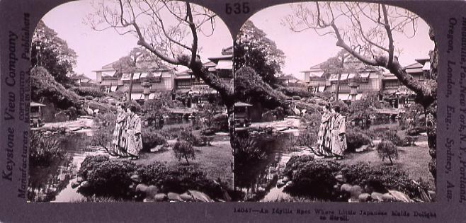 作品画像:An Idyllie Spot Where Little Japanese Maids Dolight to strell.14047