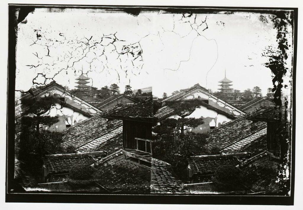 作品画像:興福寺 五重塔遠望