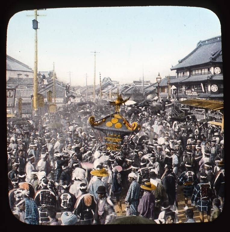 作品画像:祭りの神輿