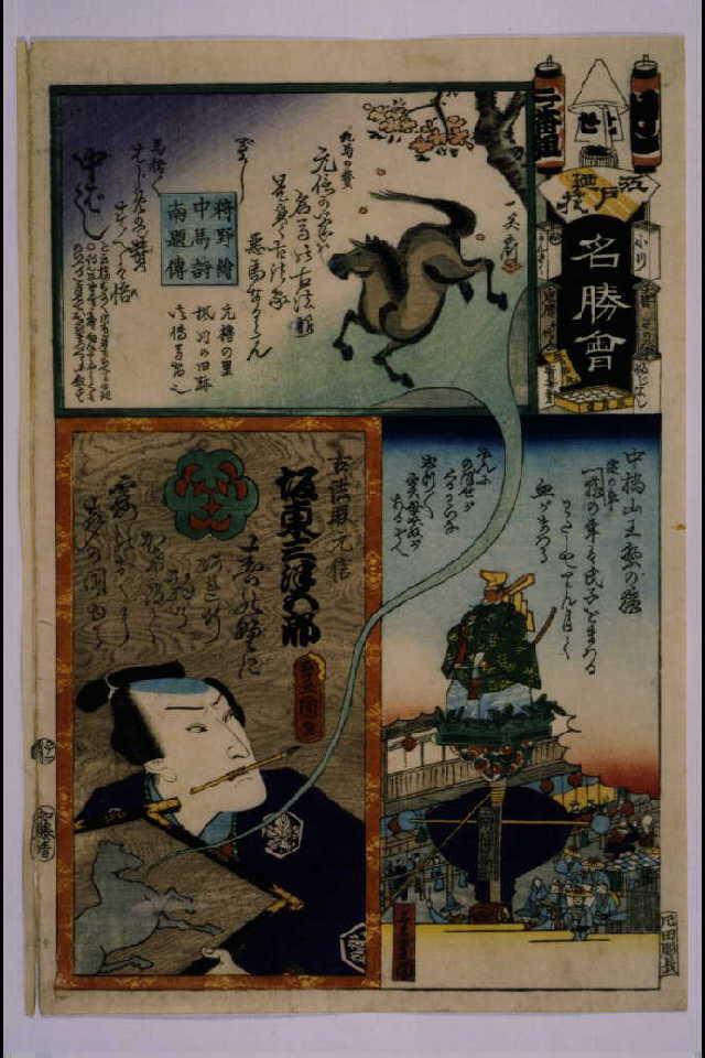 作品画像:江戸の花名勝会 せ 二番組