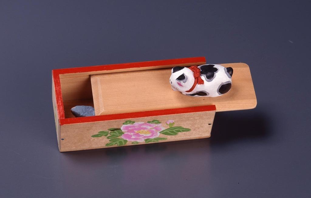 作品画像:郷土玩具 猫と鼠