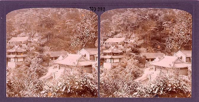 作品画像:満州の奇勝千山(No.282)