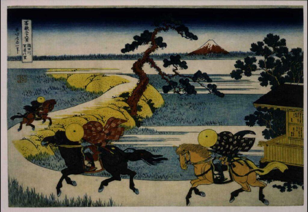作品画像:冨嶽三十六景 隅田川関屋の里