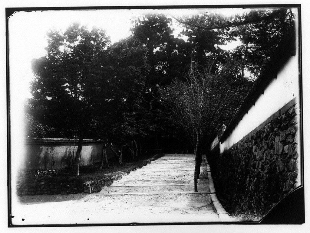 作品画像:道と塀