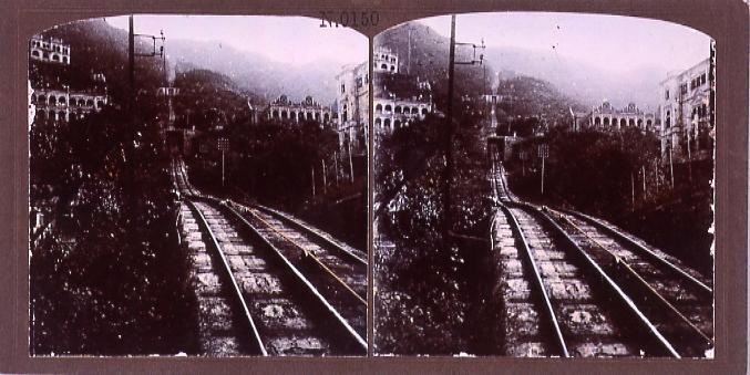 作品画像:香港登山鉄道(No.150)