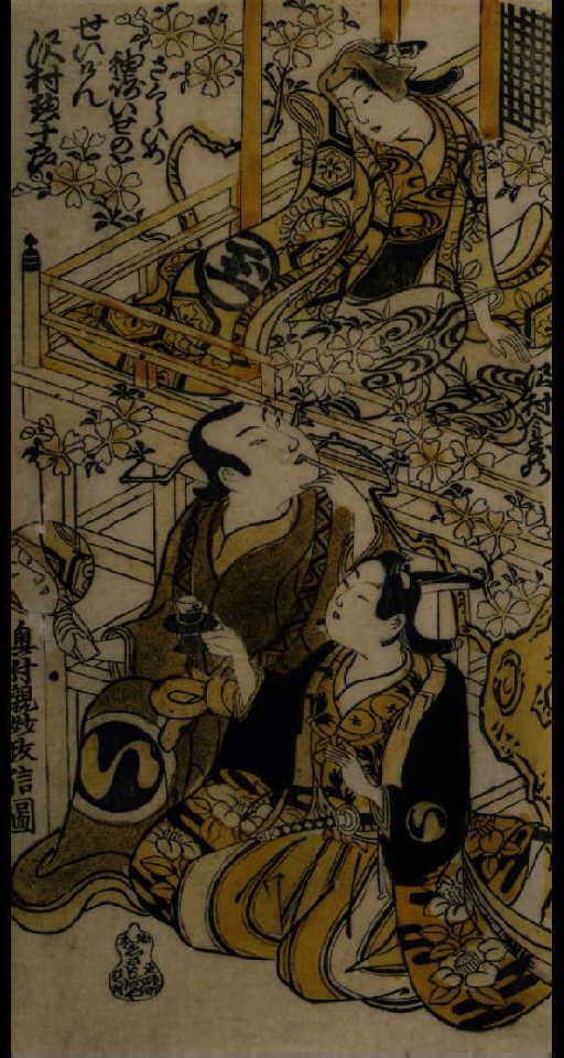 作品画像:沢村金蔵と沢村惣十郎