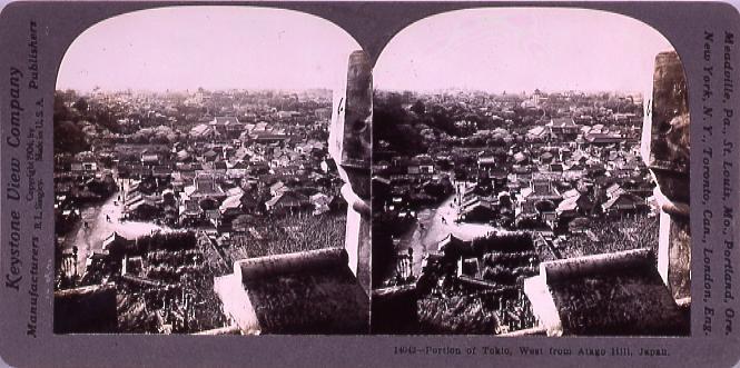 作品画像:Portion of Tokio,West fromAtago Hill,Japan.14042