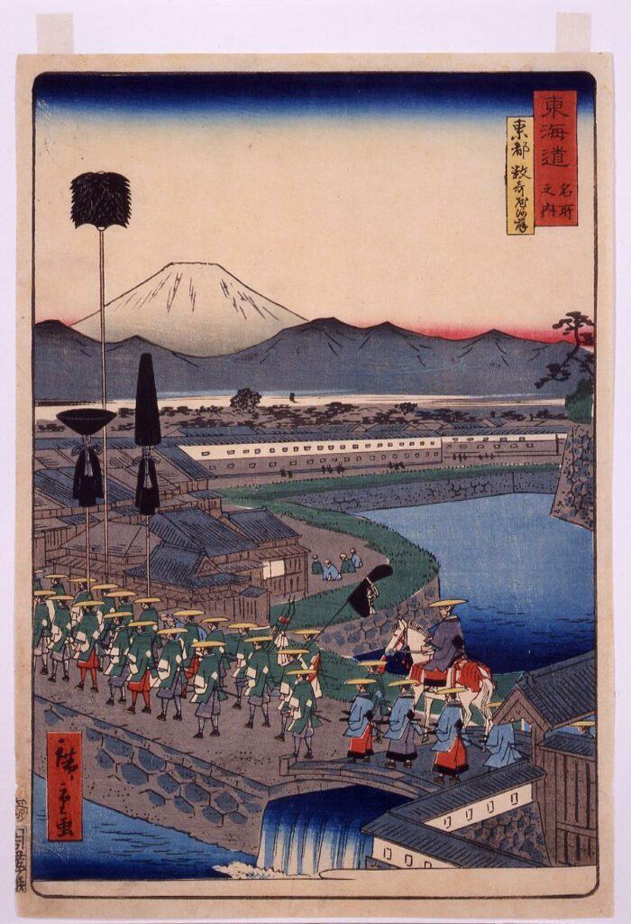 作品画像:海道名所之内 東都数寄屋河岸