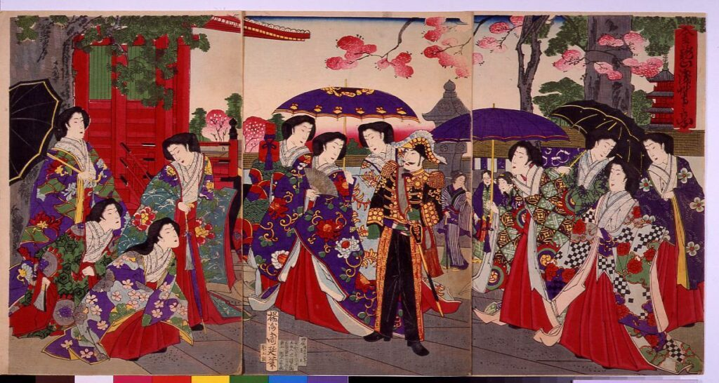 作品画像:金龍山浅草寺之景