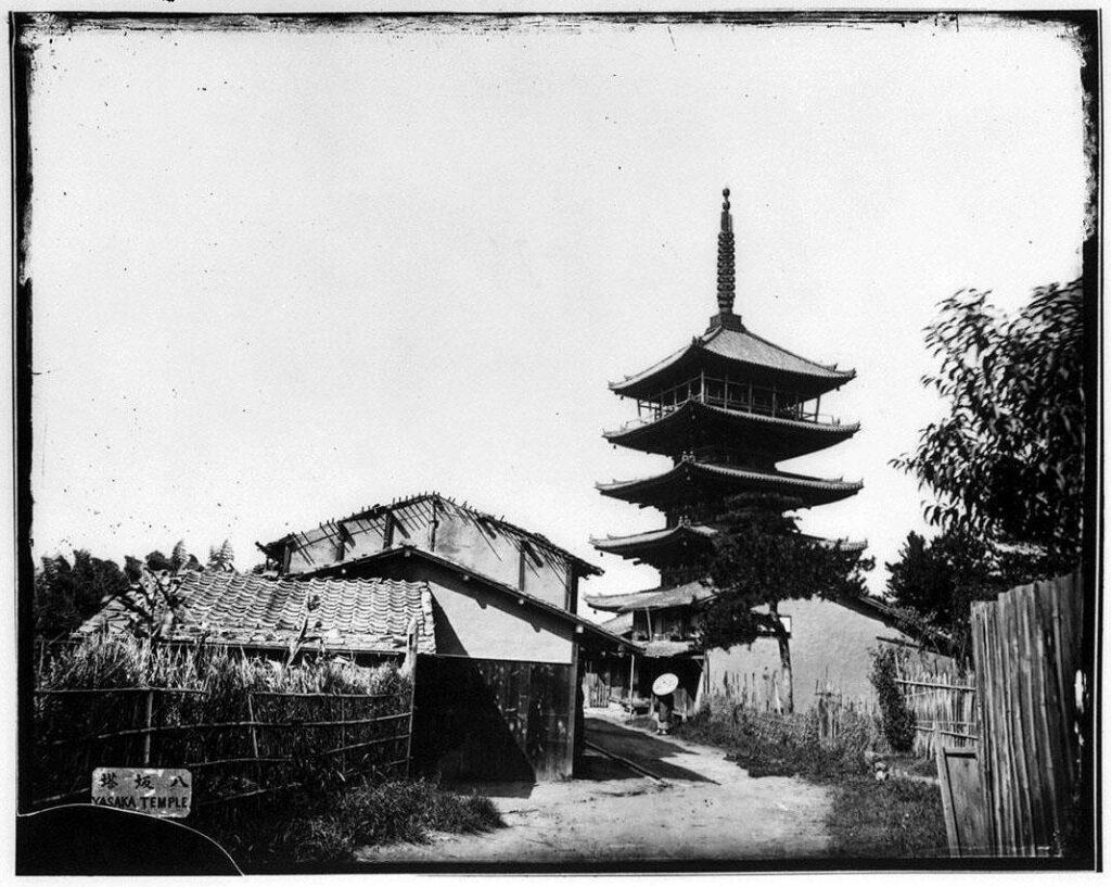 作品画像:京都 八坂塔