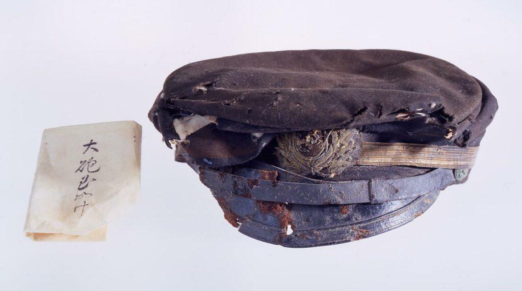 作品画像:軍帽(海軍士官用)