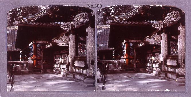 作品画像:日光東照宮陽明門側面(No.209)