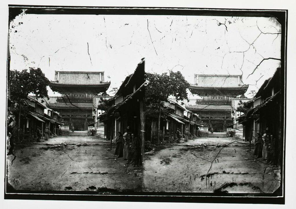 作品画像:清涼寺 山門