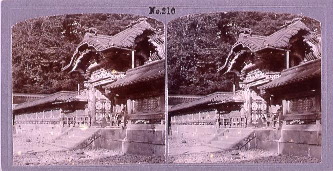 作品画像:日光東照宮唐門(No.210)