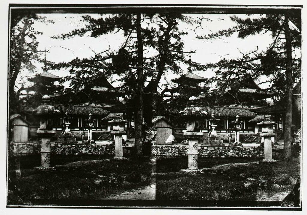 作品画像:法隆寺 太子堂・山門