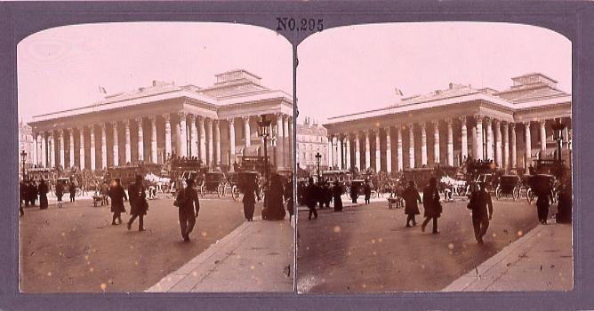作品画像:パリ、取引所(No.295)