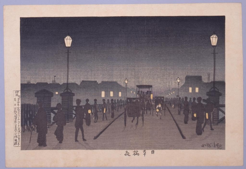 作品画像:日本橋夜