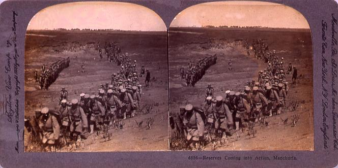 作品画像:Reserves Coming intoAction, Manchuria. 6626