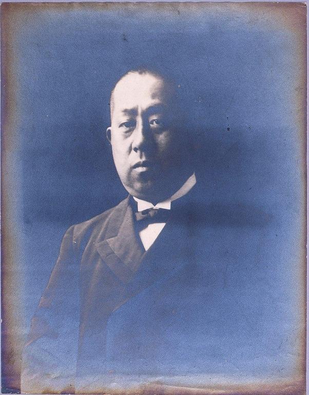 作品画像:徳川家達肖像