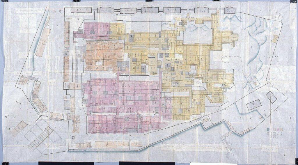 江戸城西丸絵図