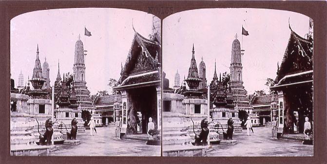 作品画像:暹羅国王室寺院(No.158)