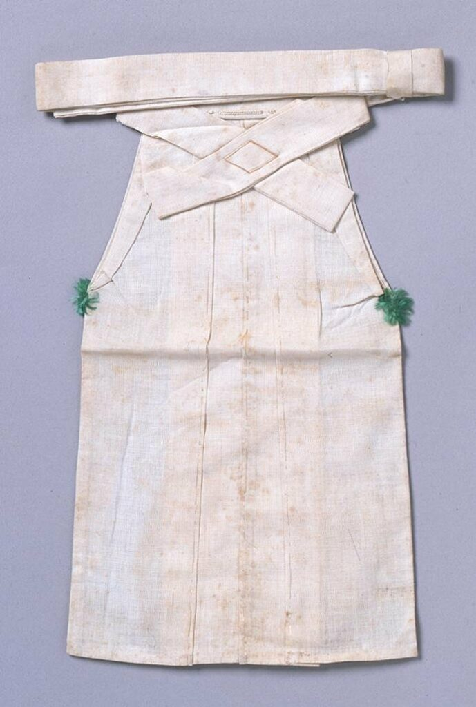 作品画像:裁縫雛形 水干下袴(手縫)