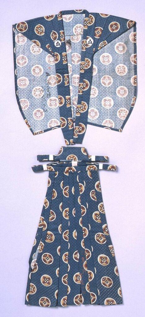 作品画像:裁縫雛形 裃肩衣(手縫)
