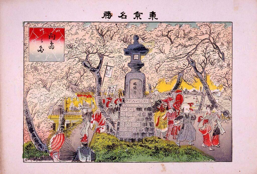 作品画像:東京名勝 向島之図