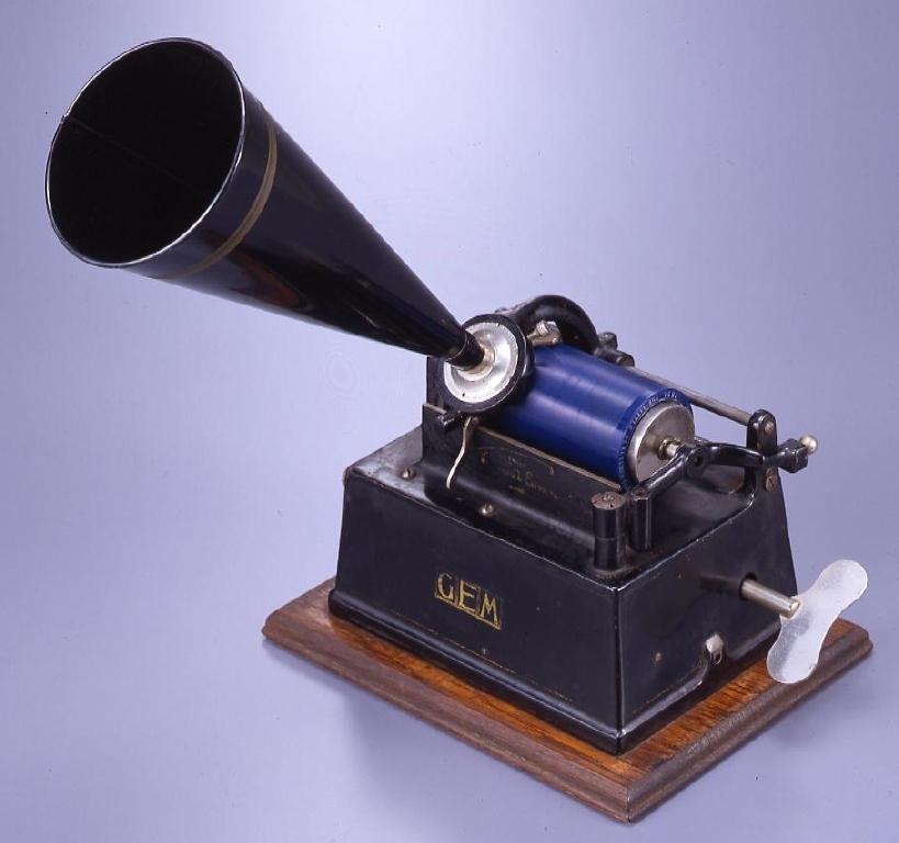 作品画像:円筒式蓄音機  GEM モデルA