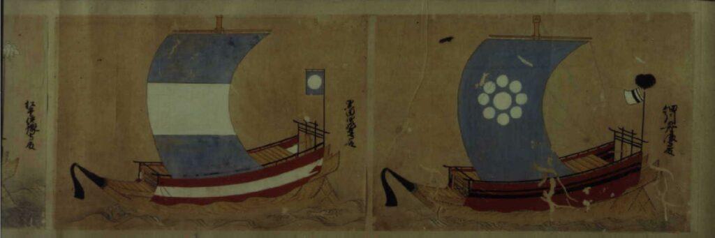 作品画像:諸侯船絵図