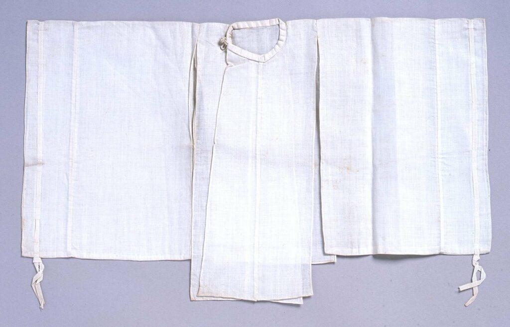 作品画像:裁縫雛形 白張(手縫)