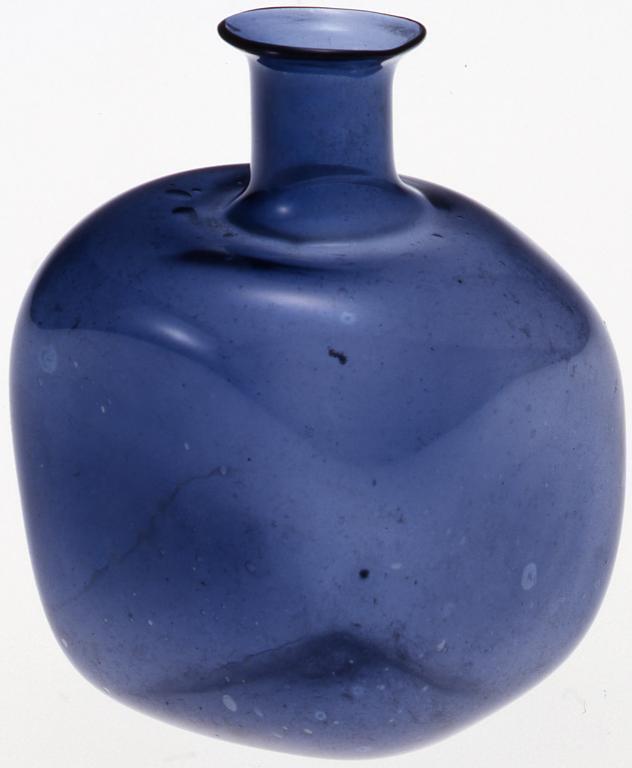 作品画像:紫色四角小ビン