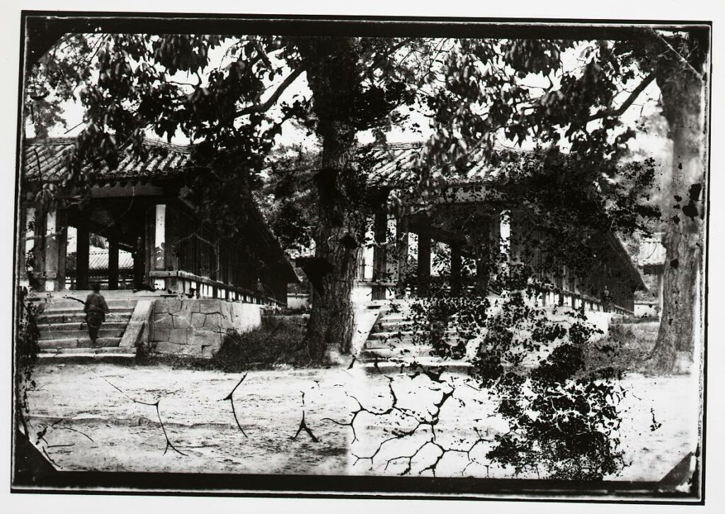 作品画像:法隆寺廻廊